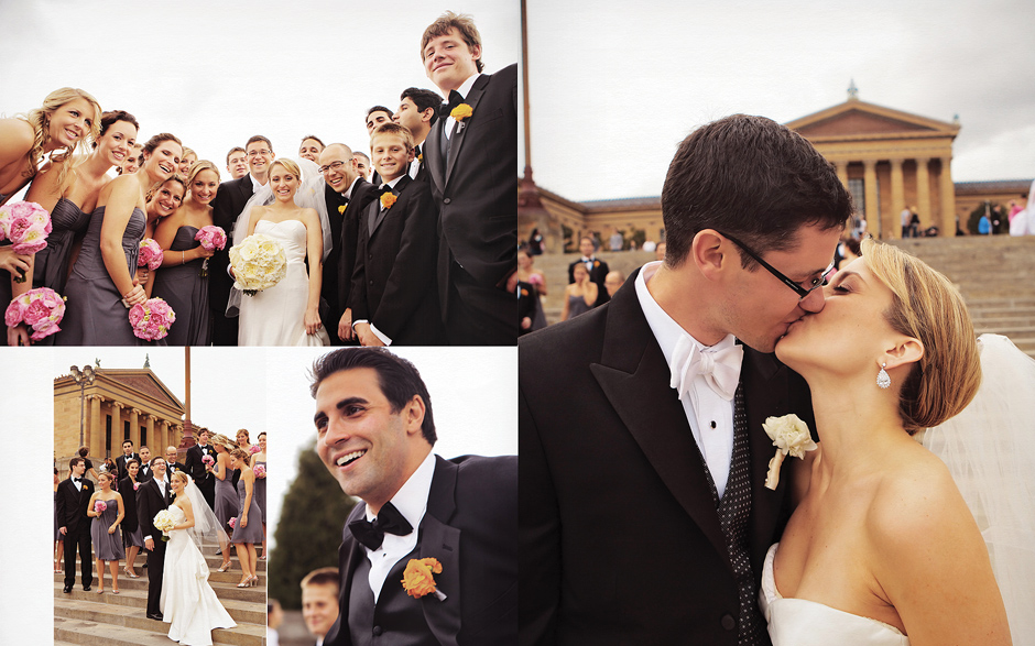 Philadelphia museum wedding