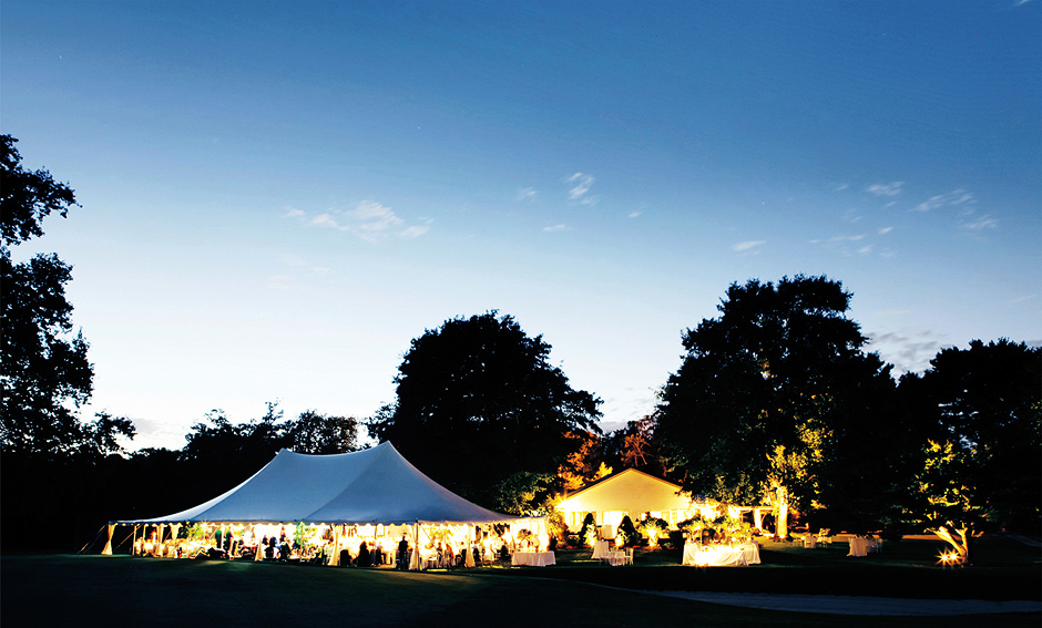 wedding tent ideas photos - Fall Wedding at Moorestown Field Club in New Jersey
